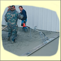 Vibra Strike VSI Screed with screed board
