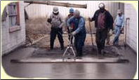 Single person screed operator